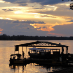 sunset amazonas